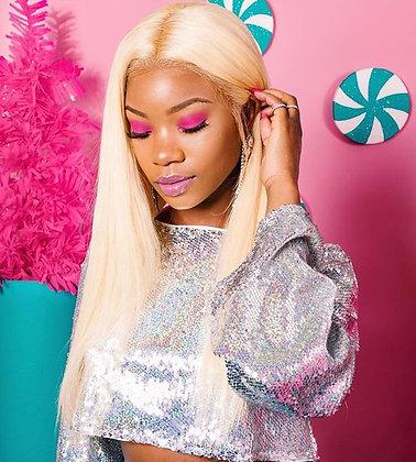 Russian Blonde Full Lace Wigs