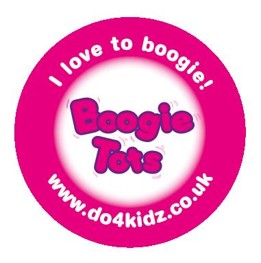 Boogie Tots round sticker.png