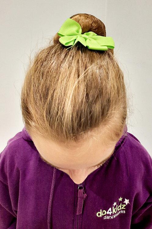 Lime Green Hair Bow