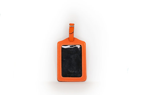 Luggage Tag (Orange)