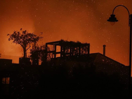 Social Media Outrage over Lebanese Wildfires
