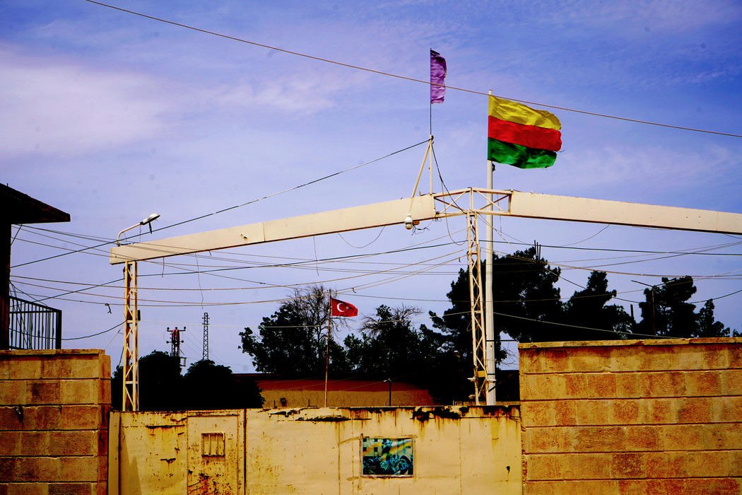 Rojava Border with Turkey