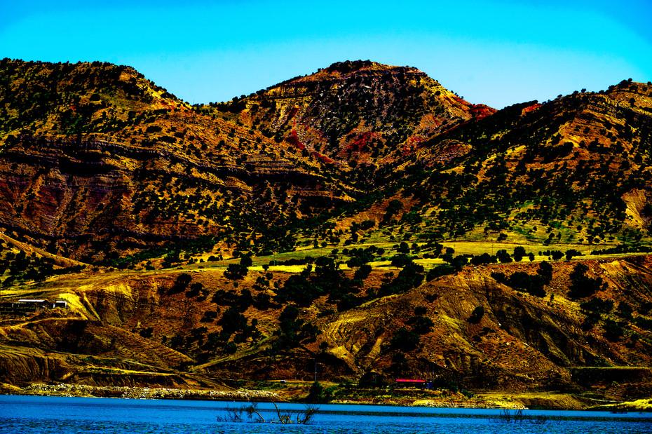 Mountains outside Erbil Province