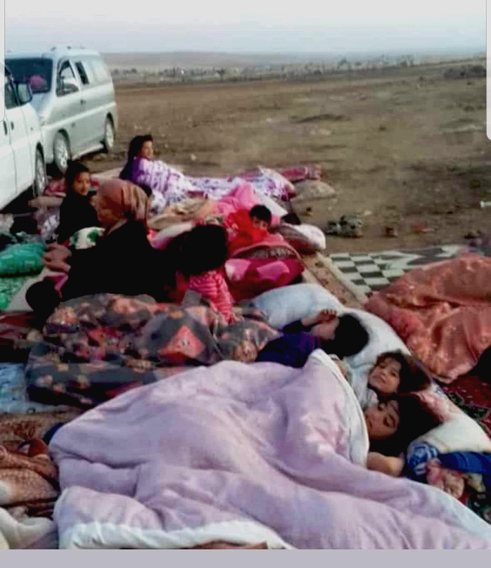 Fleeing the Turkish Invasion