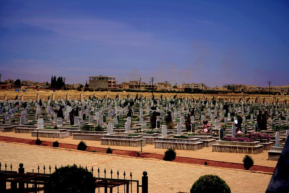 Eid at SDF Gravyard