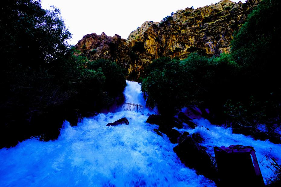 Ahmad Awa Waterfall