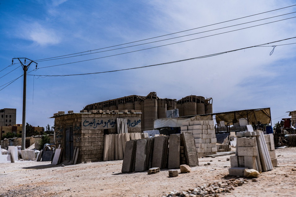 Signs of Rebuilding ar-Raqqa