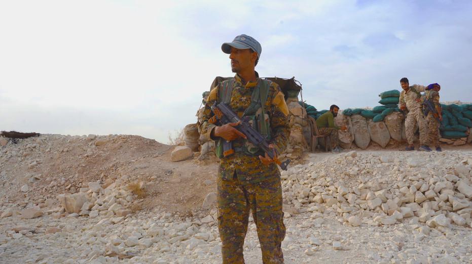 Frontlines in Manbij, Syria