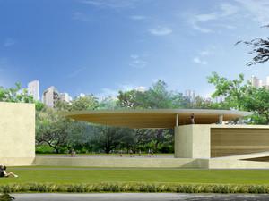 Varandão do Parque Municipal de Belo Horizonte