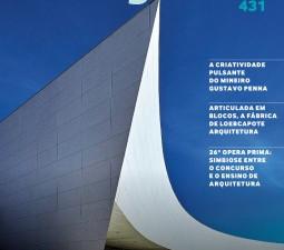 Trabalho da GPA&A é capa das principais revistas de arquitetura