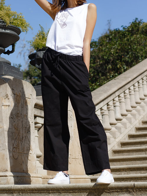 Unisex Wide Leg Trouser