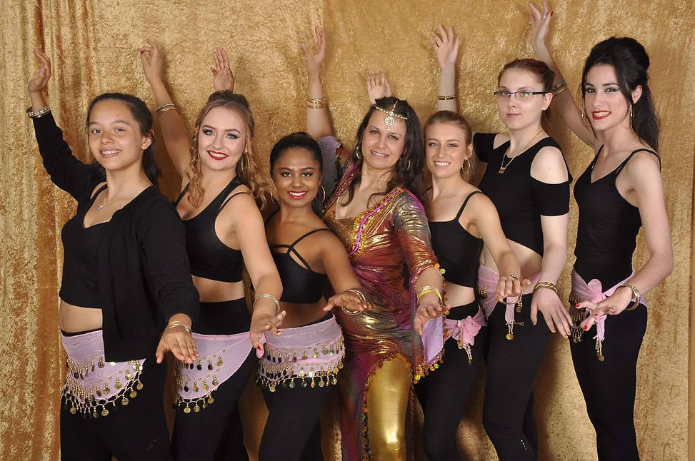 Reading University Bellydance Society Students AY2016/2017