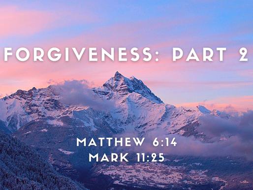 Forgiveness, Part 2: Stepping Stones to Forgiveness