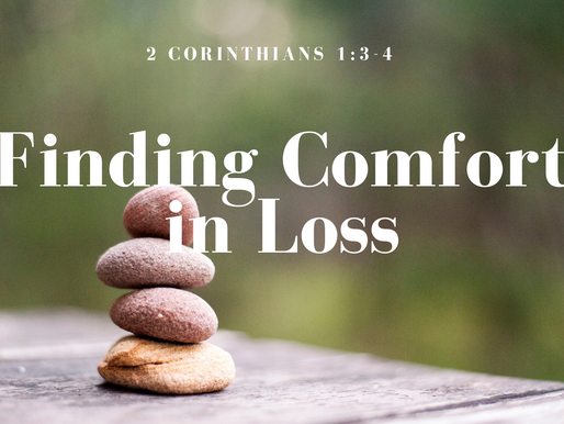 Finding Comfort in Loss