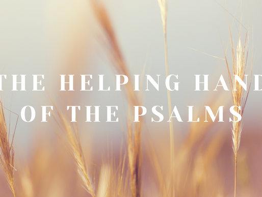 The Helping Hand of the Psalms