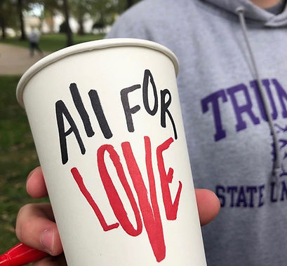 All For Love Coffee Cup
