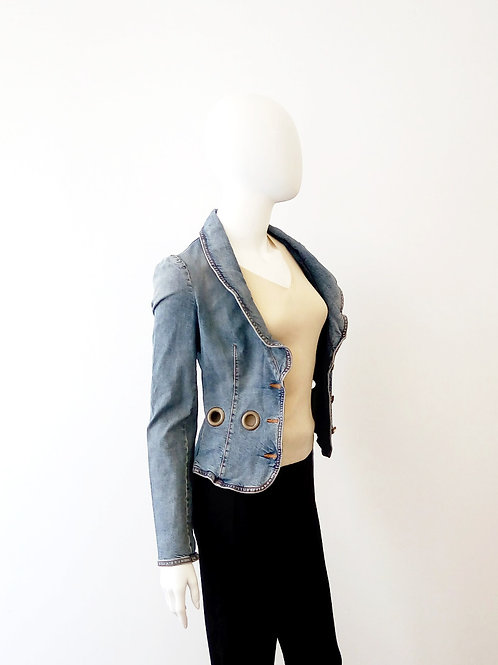 Red VALENTINO Jeans Jacket