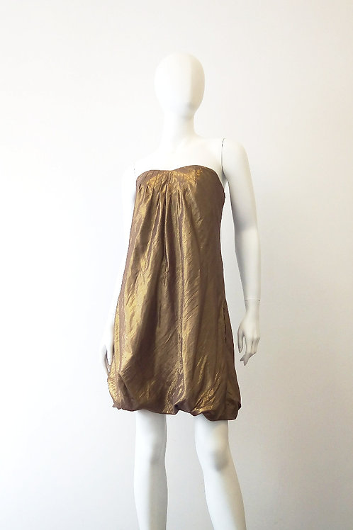 BANANA REPUBLIC Gold Dress