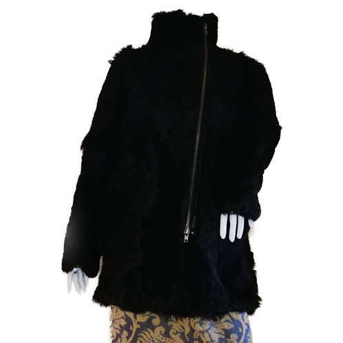 sandro ファーコート