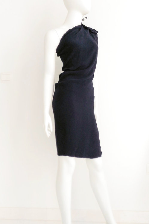 LANVIN Navy Blue Dress