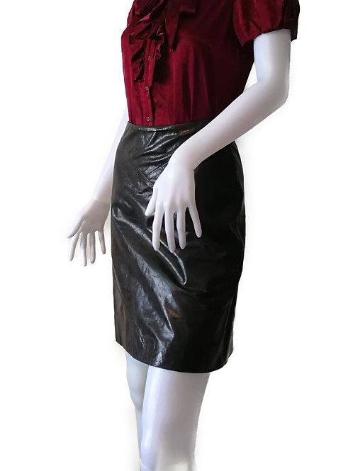 JILL STUART レザースカート