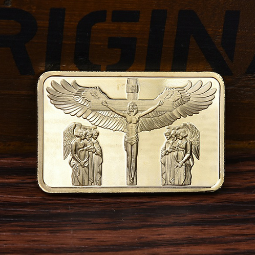 The Passion Of The Christ 24k Gold 1 Oz Bar Thegiftedman