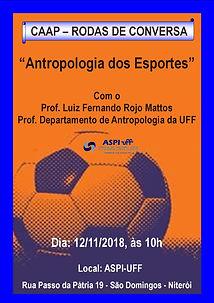 2018-11-12 - Palestra - Antropologia dos