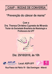 2018-10-29 - Palestra - Dra. Thereza Chr