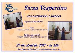 Sarau Vespertino