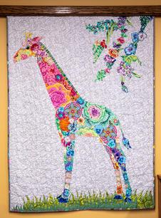 Collage Quilt Made by Shanthi Ragan