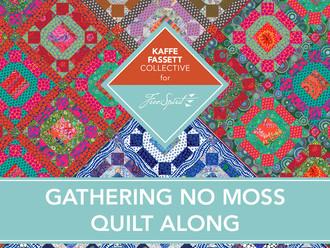 Kaffe Fassett Gathering No Moss Quilt Along 2021