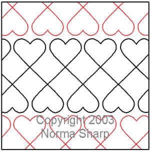 Crib Hearts