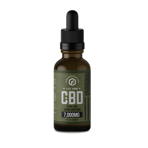 VOF CBD Oil Tincture - Raw - 7000 mg