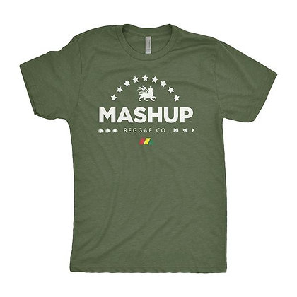 "Mens Green ""Reggae Co."" Tee"