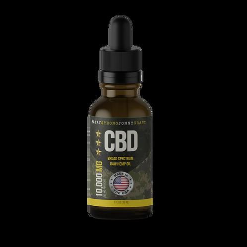 SSJG CBD Oil Tincture - Raw - 10000 mg