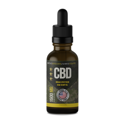 #SSJG CBD Oil Tincture - Raw - 1500 mg
