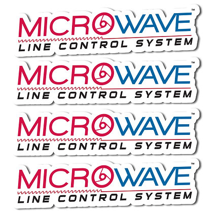 MicroWave LCS Logo Decal- 4 Pack