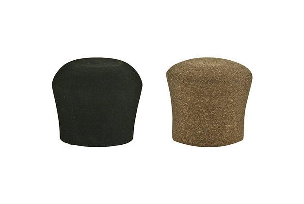 EVA & Composite Cork Fighting Butt Cap