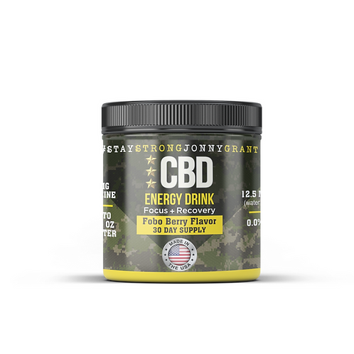 SSJG CBD+ Recovery Drinks (30 Servings)