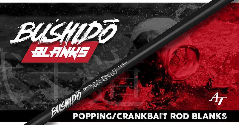 Bushido Crank Bait / Popping Series