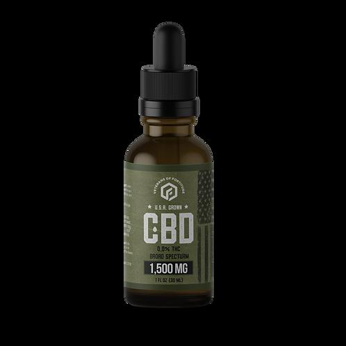VOF CBD Oil Tincture - Raw - 1500 mg