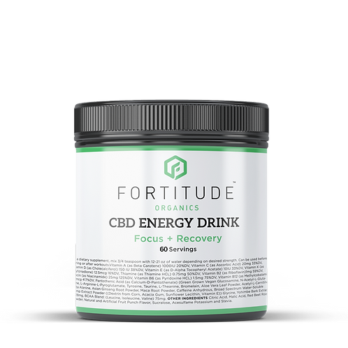 CBD+ Recovery Drinks (60 Servings)