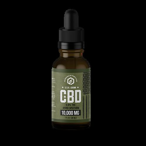 VOF CBD Oil Tincture - Raw - 10,000 mg