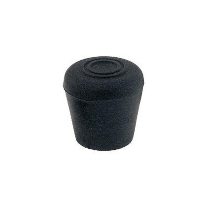 Rubber Crutch Butt Cap