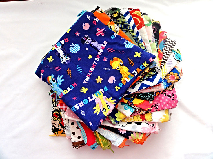 Set of 10 Reusable Sanck/Sandwich Bags