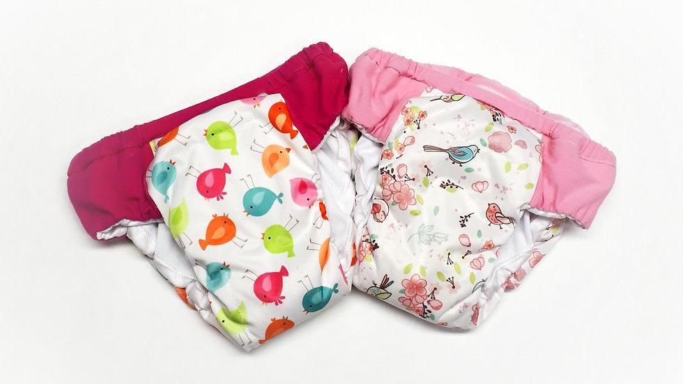 Set of 2 Girls Overnight Potty Training Pants
