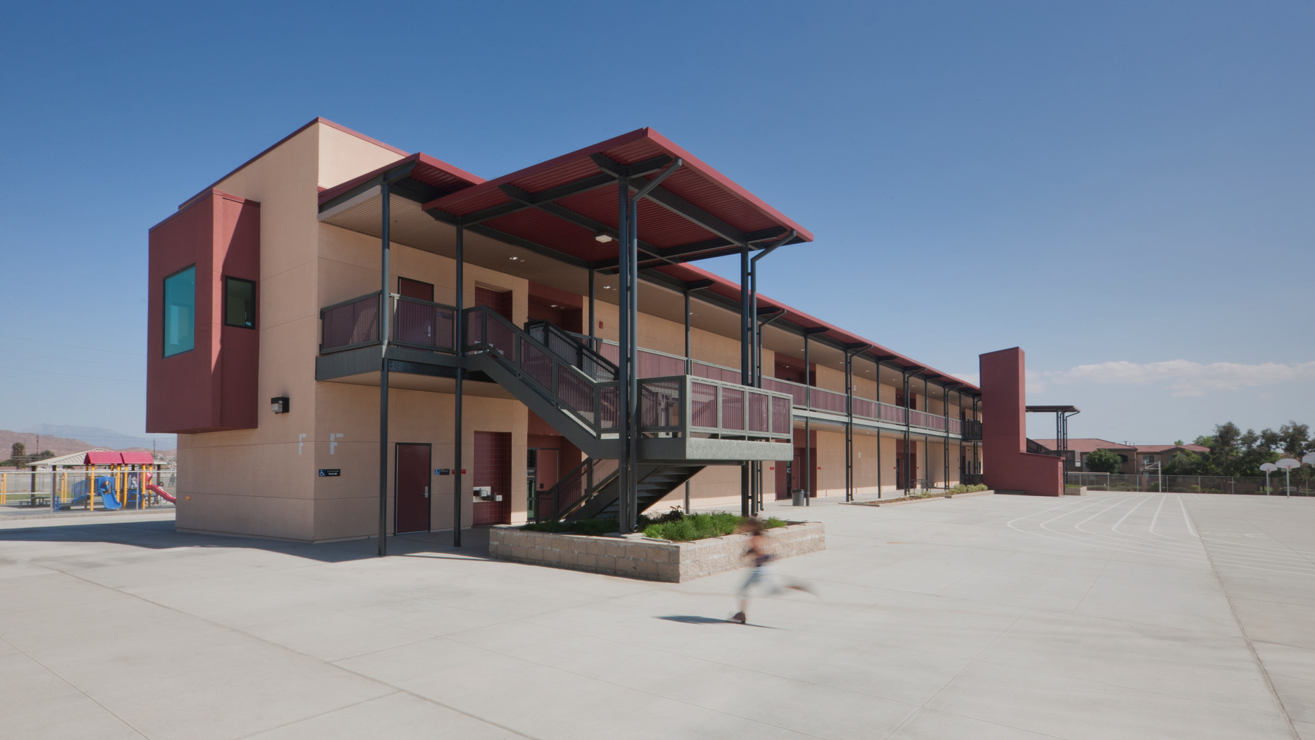 New Two-Story Classroom Building, Armada Elementary School