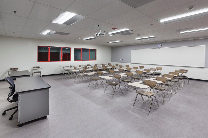 Etiwanda High School Two-story Classroom Building