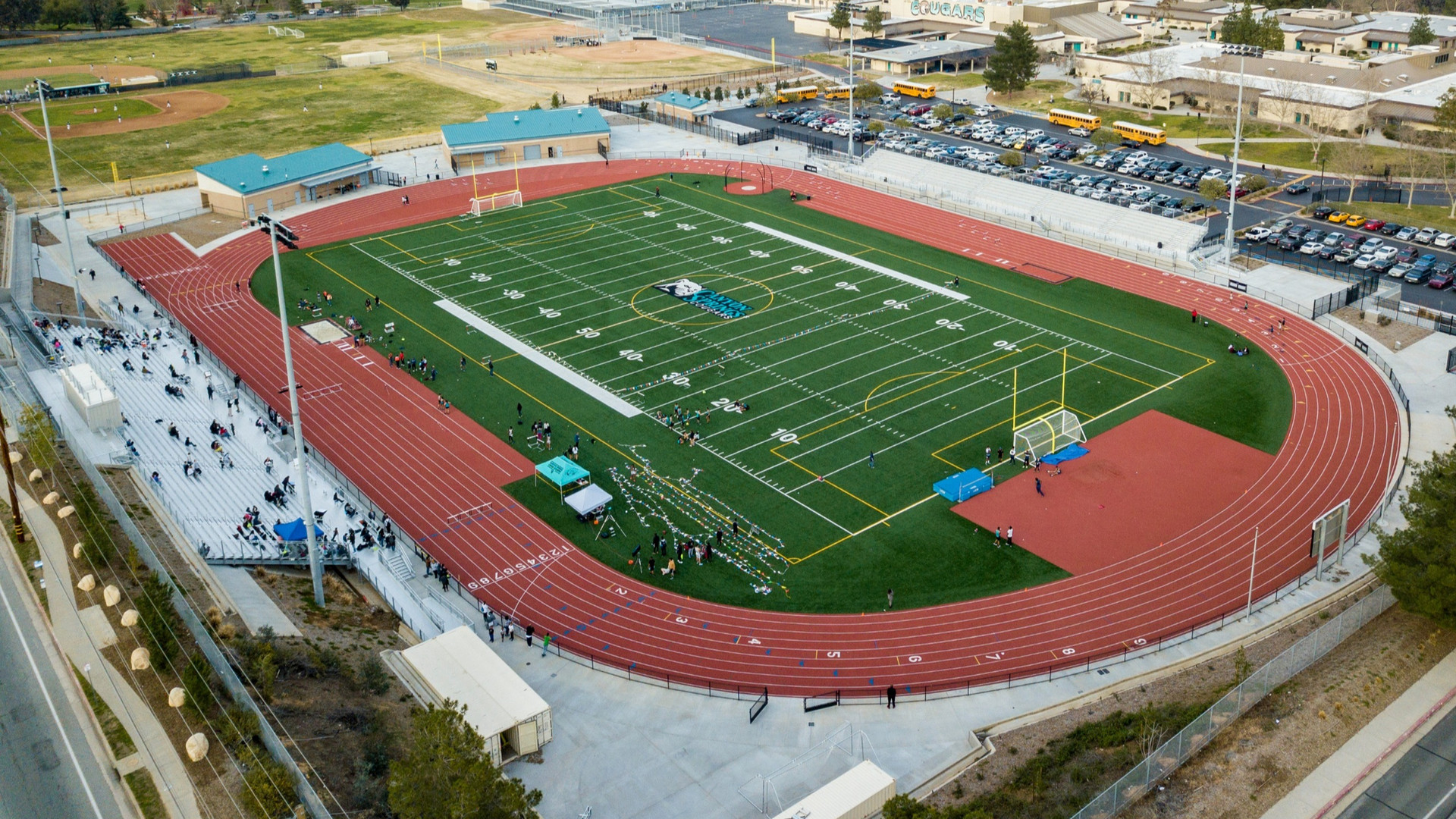 Athletic Complex, Canyon Springs High School