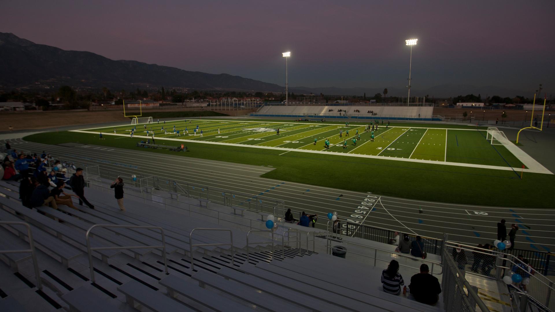 New Athletic Complex + Campus Quad